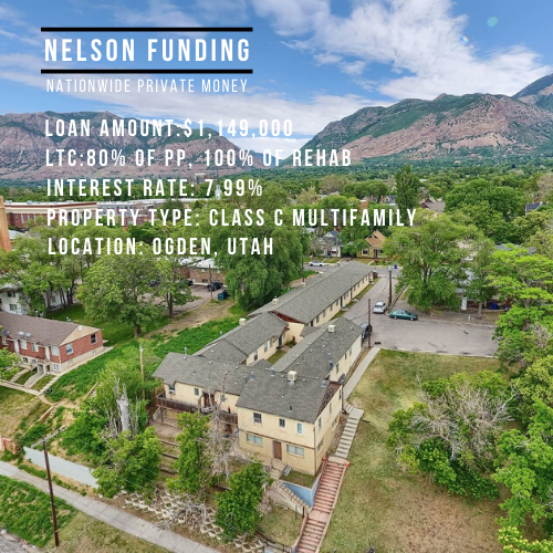 Nelson Funding Closes $1.149 Multifamily Loan