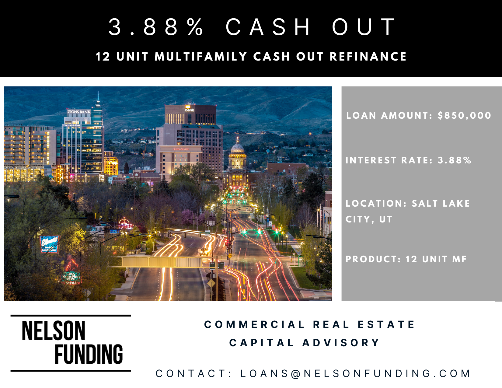 Cash Out Refinance in Salt Lake City
