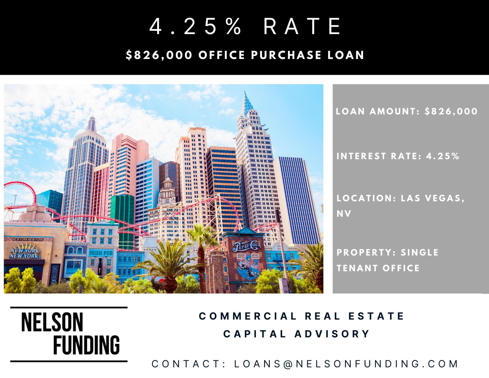 Office Acquistion Loan in Las Vegas