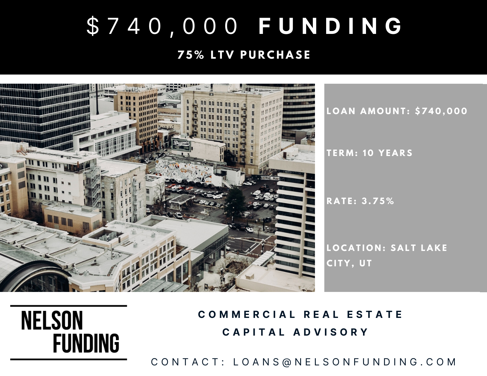 Nelson Funding Salt Lake Loan Closing