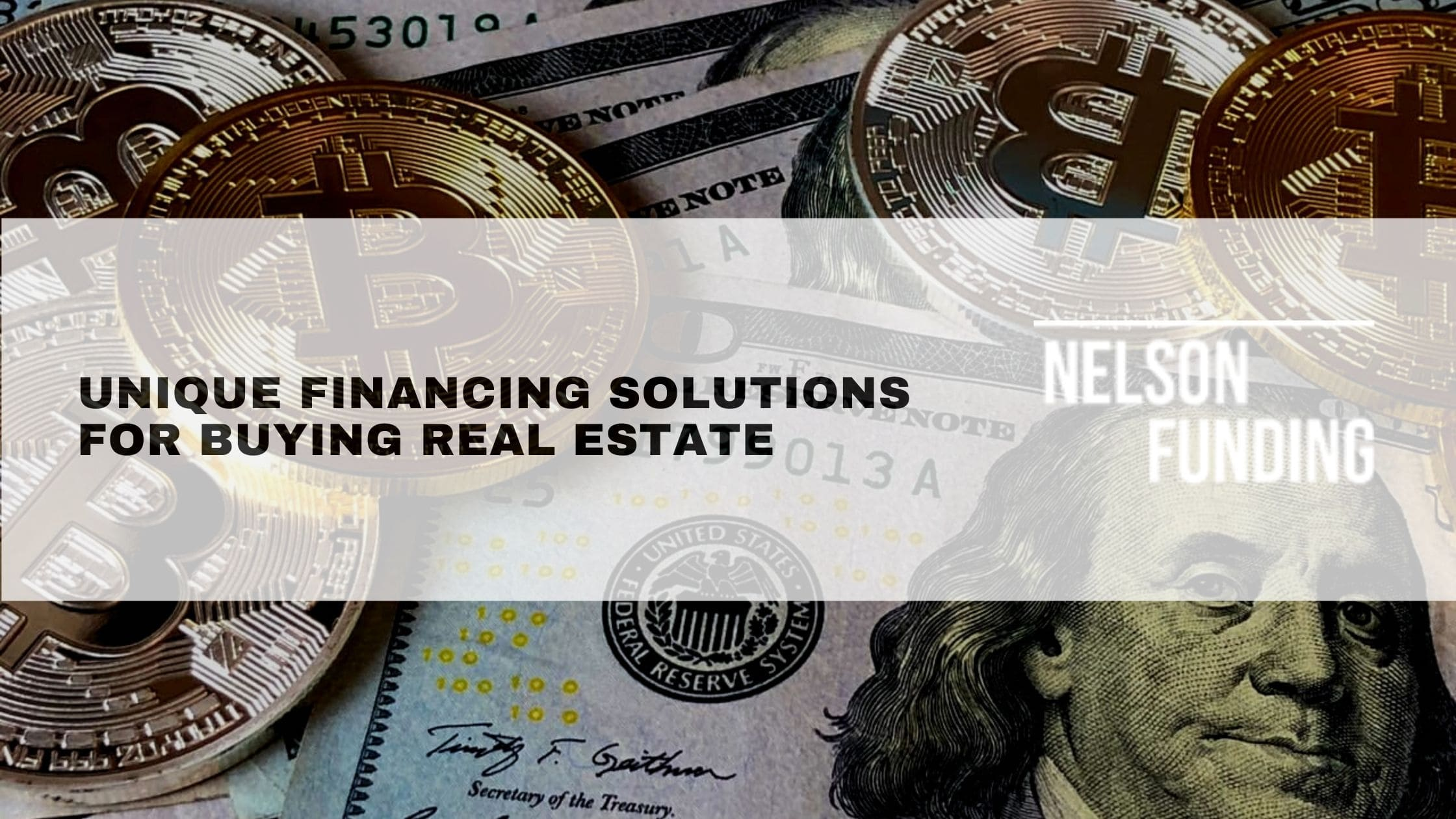 Unique Financing Solutions for Buying Real Estate